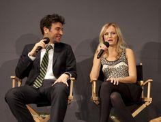 Josh Radnor and Malin Akerman promote new film