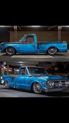 Like the rims Chevy Stepside, 67 72 Chevy Truck, Classic Chevy Trucks, Chevy Pickups, Bagged Trucks, Lowered Trucks, C10 Trucks, Chevrolet Trucks, Custom Pickup Trucks