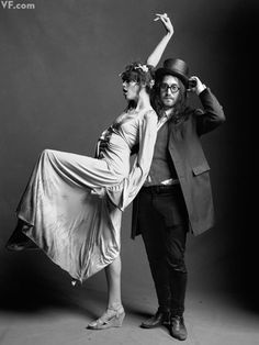 PHoto booth possibilities  Charlotte Kemp Muhl and Sean Lennon.