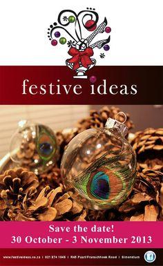 'Tis the season: Simondium's Country Lodge gets festive. - Designers on Display November 2013, Tis The Season, Save The Date, Festive, Christmas Bulbs, Designers, Events, Display, Seasons
