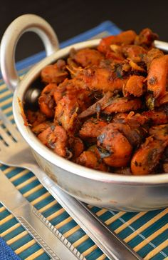 Dishing : Mushroom Chukka / Chukka Mushroom