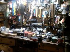 Happy Fathers day to all fathers including men without children that have played the roll of fathers in some way. Want to share a post about my Father's Workbench that I wrote a few years ago.  http://myfathersworkbench.blogspot.com/   - Martin Brossman