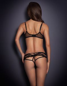 Knickers by Agent Provocateur - Lacy Brief