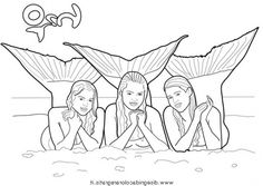H2o Coloring Pages Coloring Pages