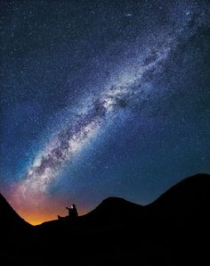 the Milky Way over a Joshua tree - Google Search