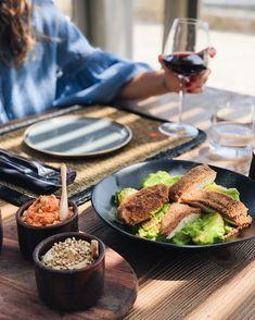 Summery wine & dine 🥂 Restaurant, Wine, Dining, Food, Diner Restaurant, Restaurants