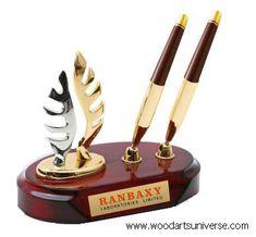 Elegant Desk Pen Stand WAUKN15005   #Homedecor #Gift #penstand http://woodartsuniverse.com/catalog/product_info.php?cPath=27_id=247