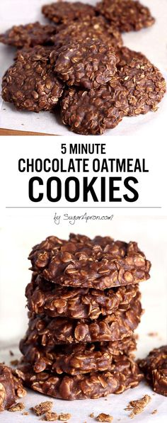 I do promise these No Bake Chocolate Oatmeal Cookies made with peanut butter, oatmeal and cocoa are the quickest, tastiest, no bake cookies youll ever eat though! Kids absolutely love them. christmas make,no bake desserts Chocolate Oatmeal Cookies, Peanut Butter Oatmeal, Brownie Cookies, Chocolate Peanut Butter, Almond Butter, Simple Oatmeal Cookies, Oatmeal No Bake Cookies, Oatmeal Scotchies, Oatmeal Cake