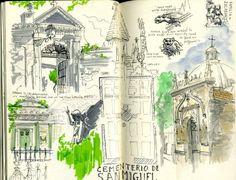 ¿Conoces a los Urban Sketchers Málaga? Son un grupo de artistas que quedan en diferentes localizaciones para dibujar #Málaga y ¡hacen MARAVILLAS como esta!