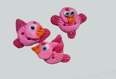 Knöpfe Vögelchen von theodora auf DaWanda.com