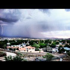 Kingman AZ rainstorms