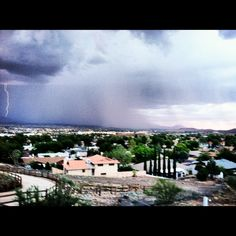 Kingman AZ rainstorms