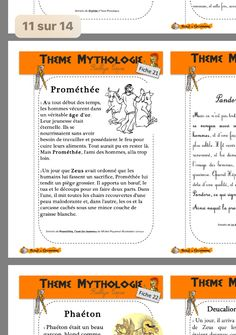 Cycle 3, Mythology, Homeschooling, Board Games, French, Greek And Roman Mythology, World Discovery, Kids Learning, Tabletop Games