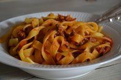 Klassisk pasta med kødsauce