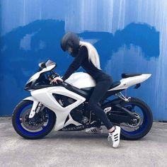@ # motorrad # moto – – – Auto und Mädchen – @ # motorcycle # moto – – – car and girl – # Badass Motorcycle Helmets, Motorbike Girl, Women Motorcycle, Motorcycle Quotes, Biker Chick, Biker Girl, Motocross, Custom Helmets, Hot Bikes