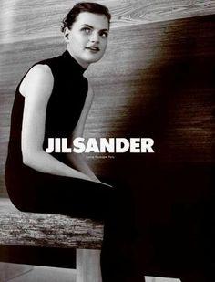 Rag Pony: Jil Sander 1996 feat Guinevere van Seenus