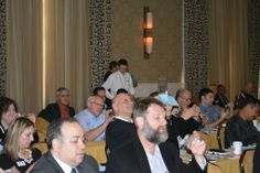 Great audience participation at #GPAD. Thank you for attending #DFI's seminar on our new super-efficient #coating machinery, #FuseCube.