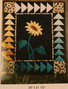 Quiltpatternregalsunflower
