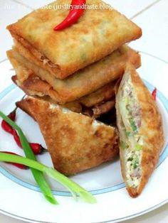 Just Try & Taste: Martabak Tahu - Daging Cincang