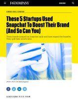 Zusammenfassung Snapchat als Turbo für Ihre Marke von Elizabeth Segran. Die Eintagsfliege unter den Anzeigen kann Ihre Marke wirkungsvoll unterstützen.