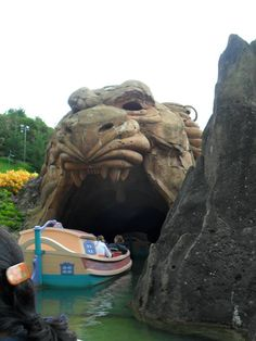 Disneyland Paris. I guess its the cave of wonders there instead of monstro like in ca