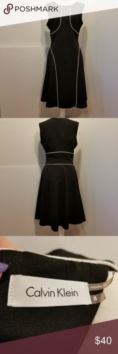 💖AWESOME💖CALVIN KLEIN BLACK DRESS!! Beautiful sleeveless Calvin Klein black dress!! Great by itself or with a cute sweater. Calvin Klein Collection Dresses High Low