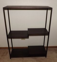 "#11 Shohin Display Stand- 22.5"" x 30"" tall x 8.5"" deep, walnut wood, comes with storage box, strong joinery, $800"