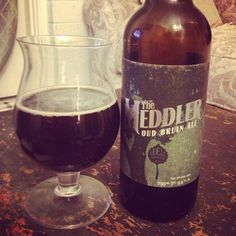 Odell Brewing's The Meddler Oud Bruin Ale. This Flemish sour is 8.9% abv