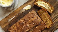 This moist loaf, made with olive oil and yogurt, is less sweet and more complexly flavored than most zucchini breads Grated lemon zest gives a gentle brightness, while brown sugar adds a caramel sweetness, and cinnamon makes it spicy and rich Serve slices plain or buttered, or spread thickly with cream cheese for a more tangy and luscious variation.
