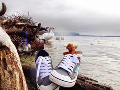 EIn Sneaker als Bordschuh | Bootsschuh - lässig