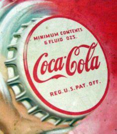 vintage coke signs | Old cardboard Coke / Santa sign | Collectors Weekly