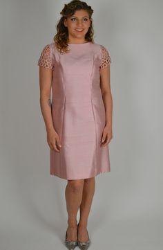 Vintage Dress, Pale Pink Dress, Pink Dress, 60s Dress, Cocktail Dress, Party Dress, Fancy Dress, 1960s Dress, Mod Dress, Shift Dress by BuffaloGalVintage on Etsy