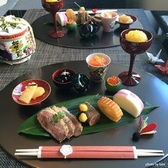 Japanese Menu, Japanese New Year, Bento Recipes, Cooking Recipes, Fish Dishes, Coffee Break, Food Styling, Asian Recipes, Love Food