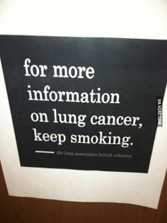 For more information...  For the facts about smoking, visit http://thefilterwales.org