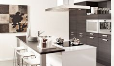 Love the idea of having a bar. Kitchen Inspirations, House Interior, Furniture, Kitchen Interior, Home Kitchens, Home, Interior, Home Deco, Home Decor