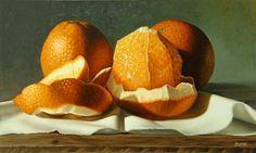 Bodegón naranjas - Óleo sobre lienzo