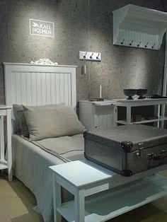 En del av vår monter på Stockholm furniture fair 2011. Vi inredde montern som ett litet rum i ett pensionat.