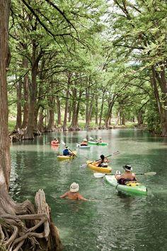 1. Kayak the Medina River