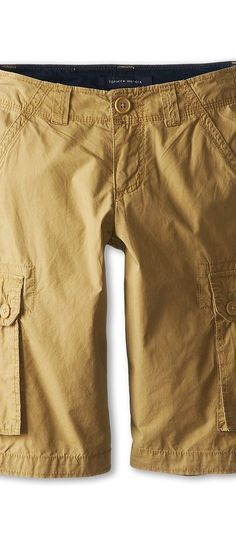 Tommy Hilfiger Kids Back Country Cargo Short (Big Kids) (Chino) Boy's Shorts - Tommy Hilfiger Kids, Back Country Cargo Short (Big Kids), T860004-232, Apparel Bottom Shorts, Shorts, Bottom, Apparel, Clothes Clothing, Gift, - Fashion Ideas To Inspire