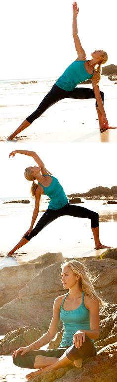 She believed she could so she did. #yoga #TekGear #Kohls