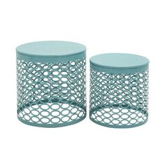 Found it at Wayfair - 2 Piece Side Table Set-Front Porch Ideas