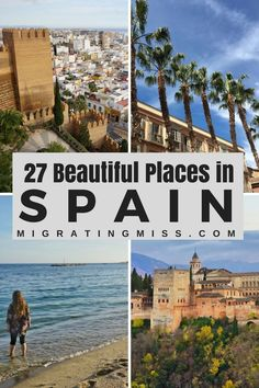 27 Beautiful Places in Spain That You Should Definitely Visit #spain #travel #europe #europetravel #spaintravel #beautifulplaces #bucketlist