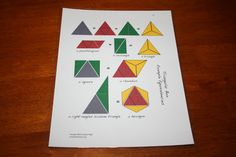 Our Country Road: Montessori Triangle Box Lessons