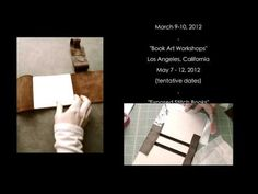 Kickstarter Pitch - 2011 - 10 book Workshop.mov and a lot of tutorial on bookbinding
