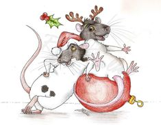 Chinese New Year Background, Christmas Rock, Christmas Cookies, Merry Christmas, Mouse Pictures, Xmas Greetings, Watercolor Christmas Cards, Christmas Cartoons, Cute Mouse