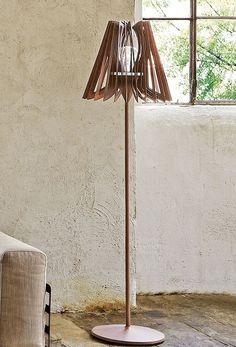 Luminárias de Aço Corten | luz | Pinterest