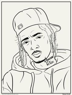 Chance the rapper merch coloring book