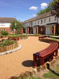 Resin bound surfacing at sheltered accommodation in York, RonaDeck Resin Bound Surfacing is tested to BS 8204 Part 6 for slip resistance.
