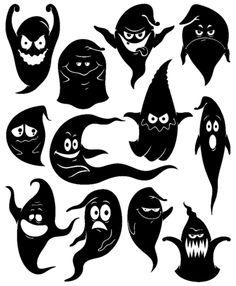 Трафареты на Хеллоуин