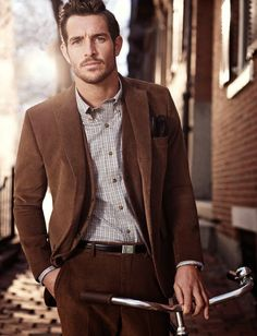 Brooks Brothers Showcases Classic Menswear Styles for Fall/Winter 2014 Imagery